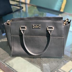 Kate Spade classic! Grove Street black satchel.